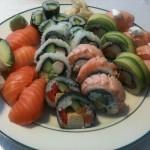 Sushi done!