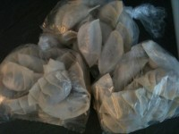 13. When Gyaza are frozen, you can keep them in plastic bags