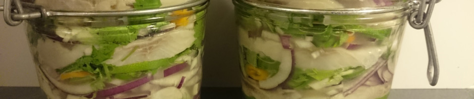 6.  Lock the jars and leave them in refrigerator for one night.